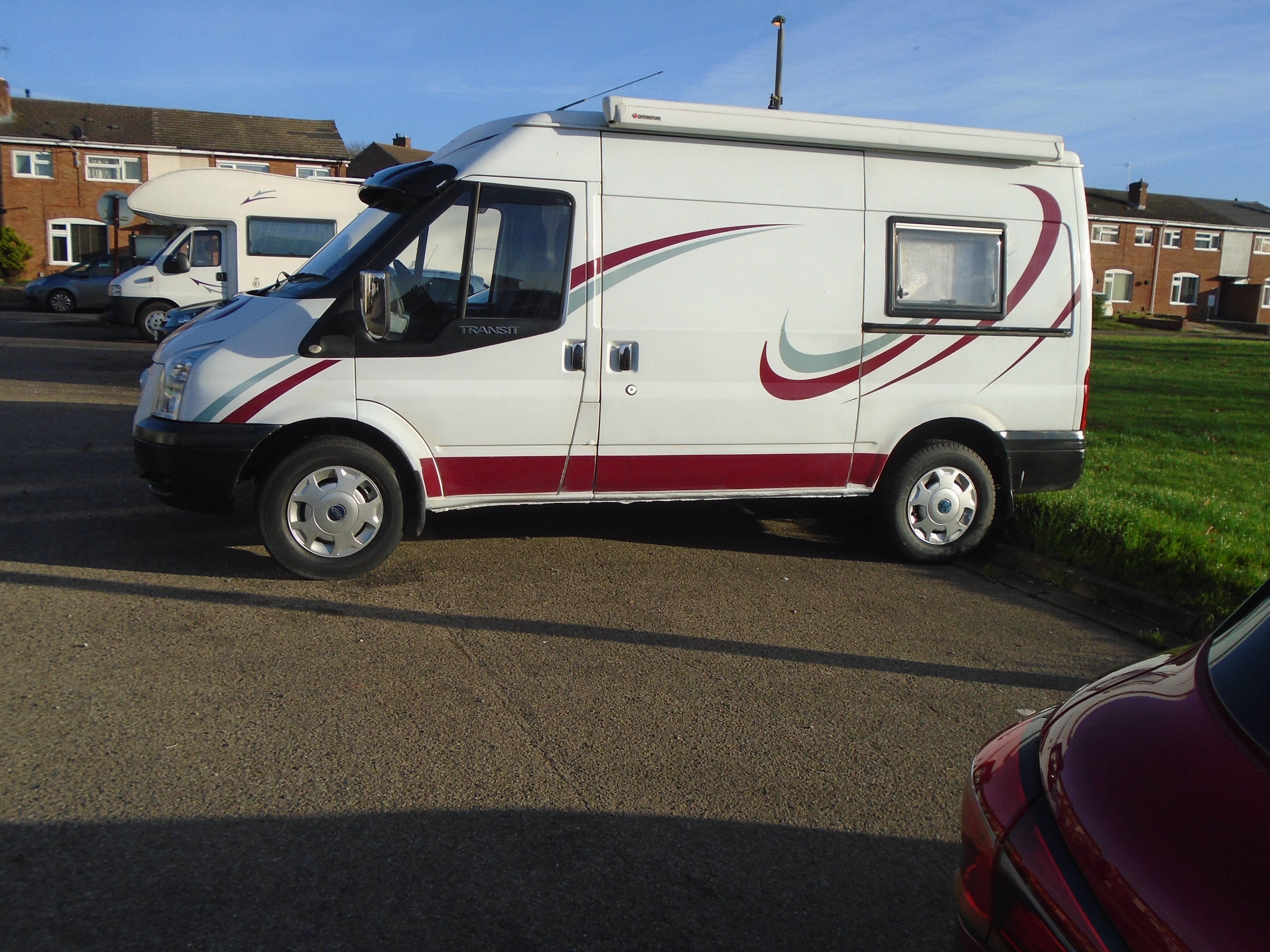 Picture of 2007 ford transit diesel hightop camper van two berth