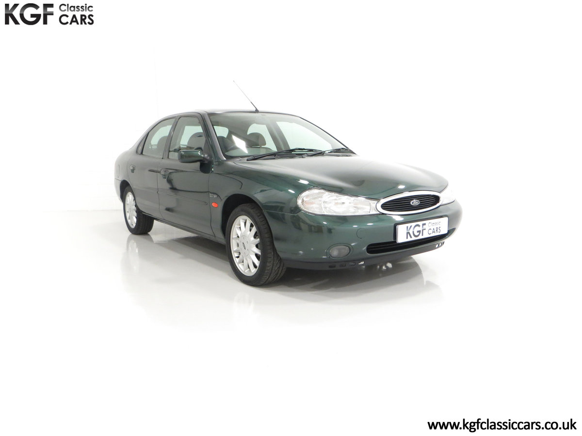 1998 A Luxurious Ford Mondeo Ghia X with Only 20,305 Miles SOLD (picture 1 of 24)