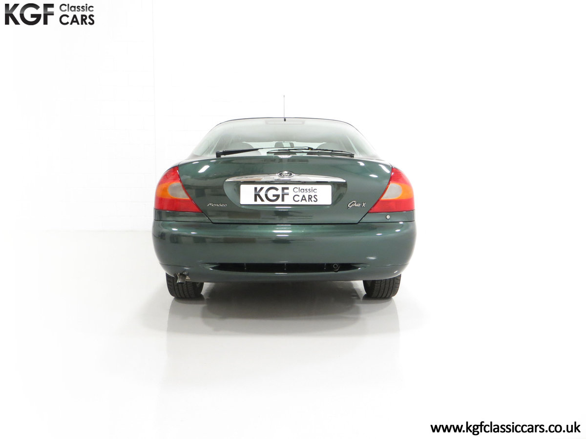 1998 A Luxurious Ford Mondeo Ghia X with Only 20,305 Miles SOLD (picture 10 of 24)