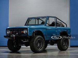 Picture of 1972 Ford Bronco Custom  For Sale by Auction