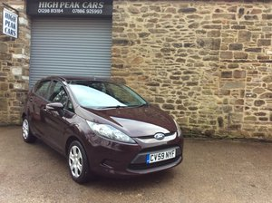 Picture of 2009 59 FORD FIESTA 1.25 STYLE + 5DR. 47357 MILES. A/C. For Sale