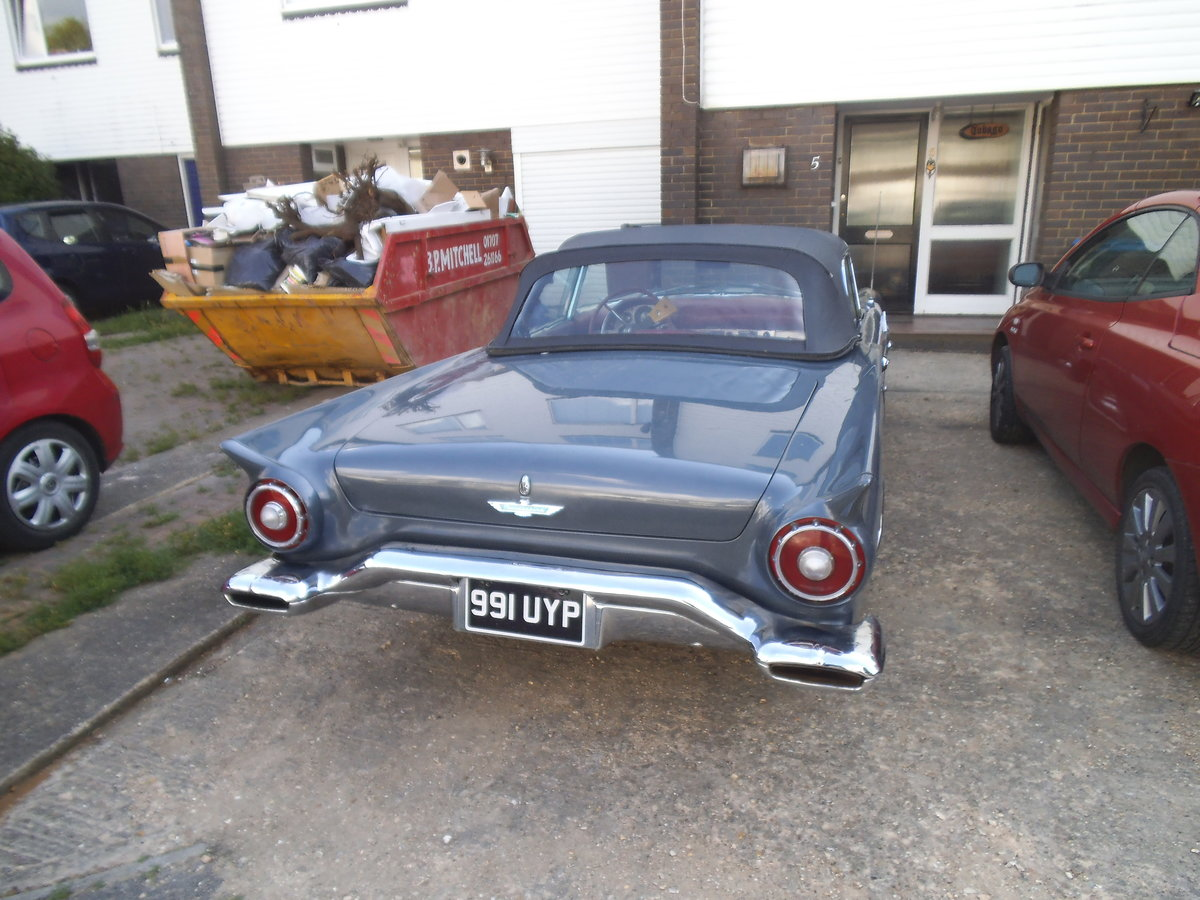 1957 E code Thunderbird For Sale (picture 5 of 7)