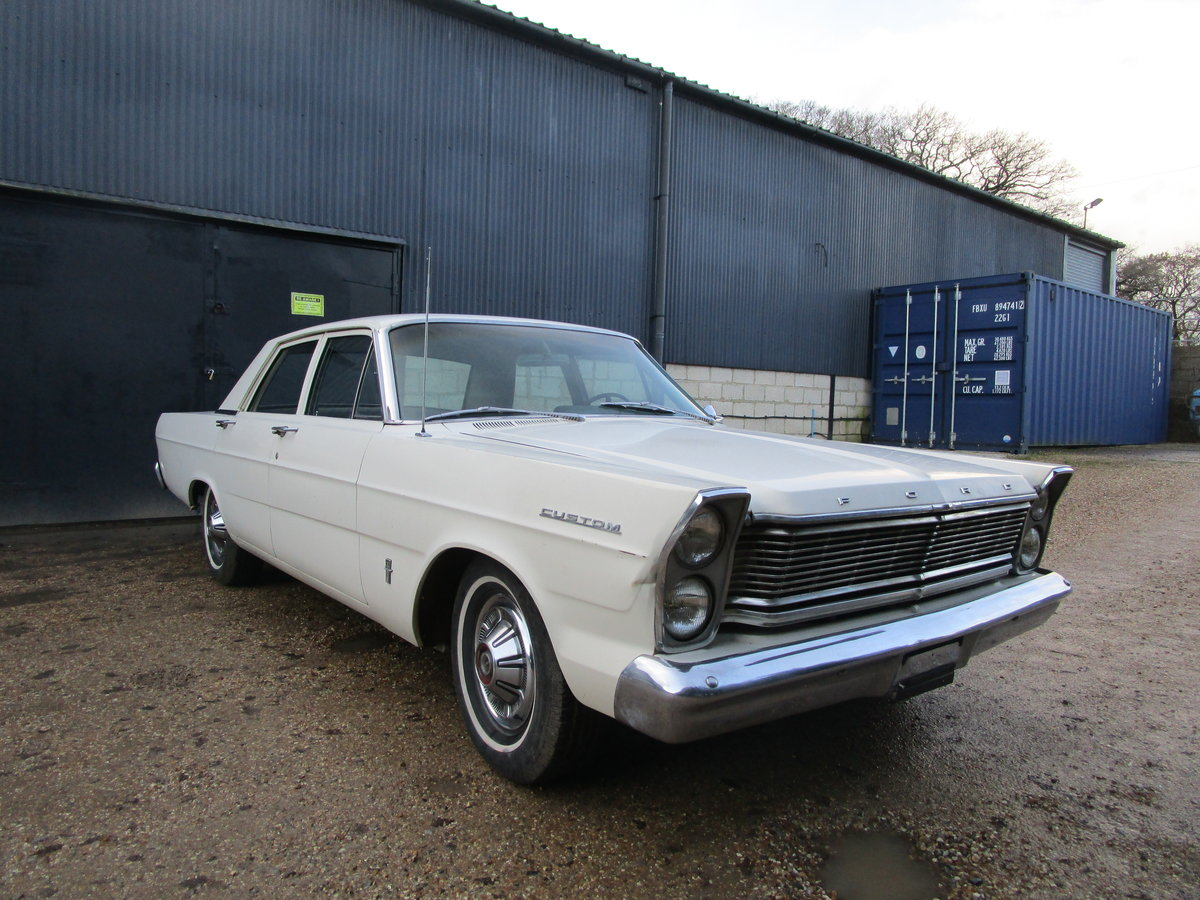 1965 Ford Galaxie 500 352 For Sale (picture 1 of 11)