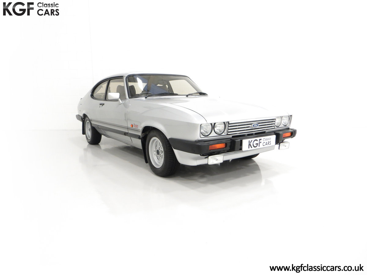 1986 Quite Possibly the Lowest Mileage Ford Capri 1.6 Laser For Sale (picture 1 of 30)