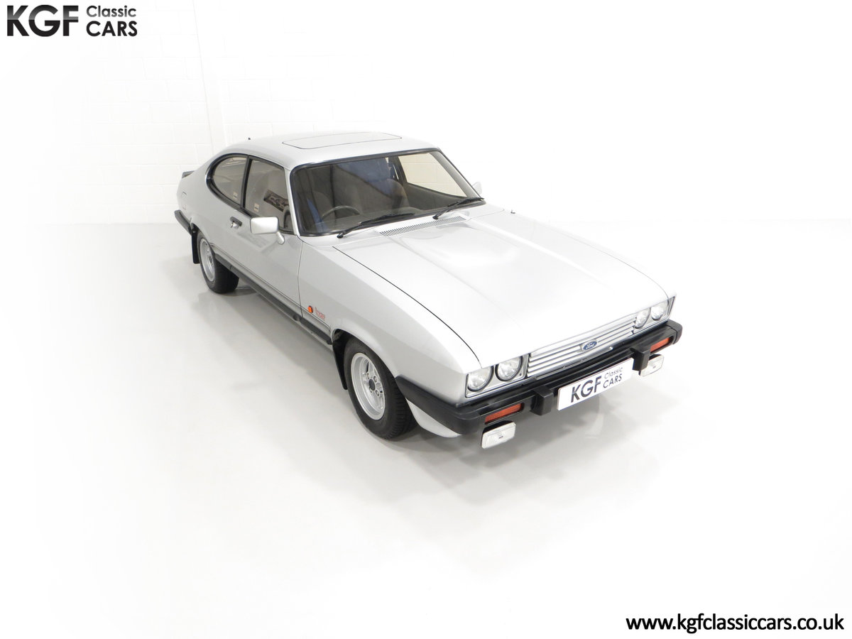 1986 Quite Possibly the Lowest Mileage Ford Capri 1.6 Laser For Sale (picture 2 of 30)