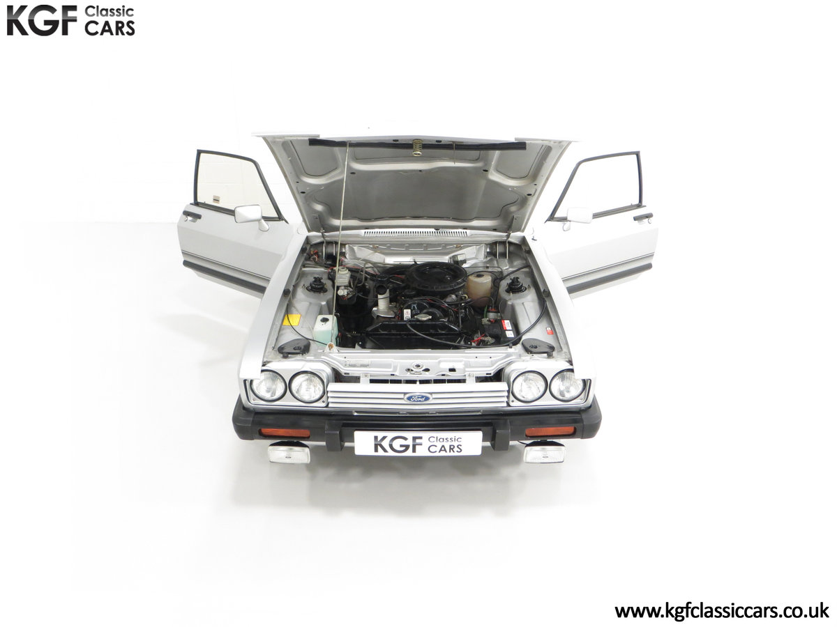 1986 Quite Possibly the Lowest Mileage Ford Capri 1.6 Laser For Sale (picture 4 of 30)