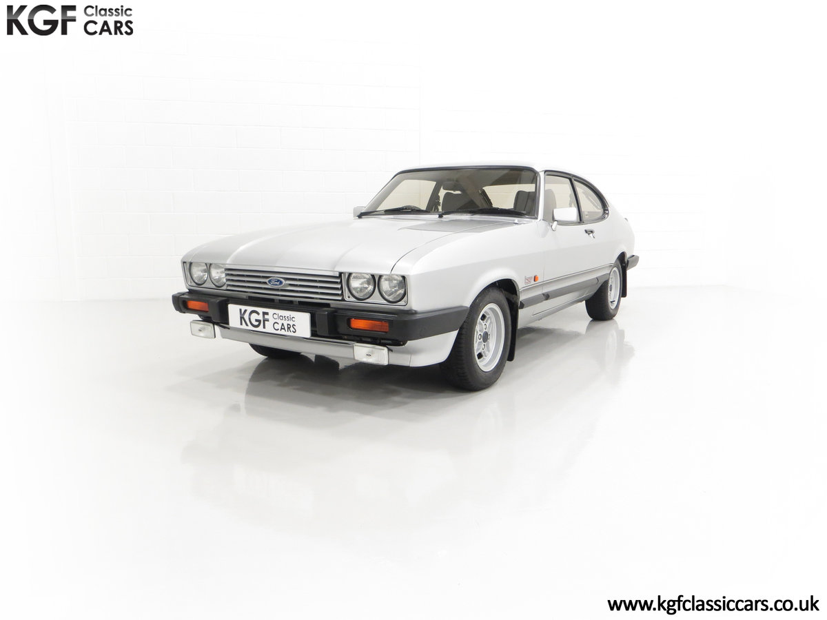1986 Quite Possibly the Lowest Mileage Ford Capri 1.6 Laser For Sale (picture 6 of 30)