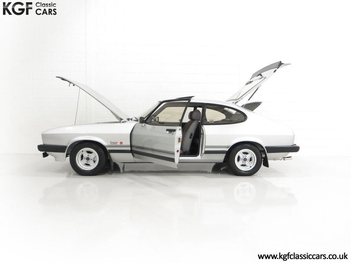 1986 Quite Possibly the Lowest Mileage Ford Capri 1.6 Laser For Sale (picture 7 of 30)