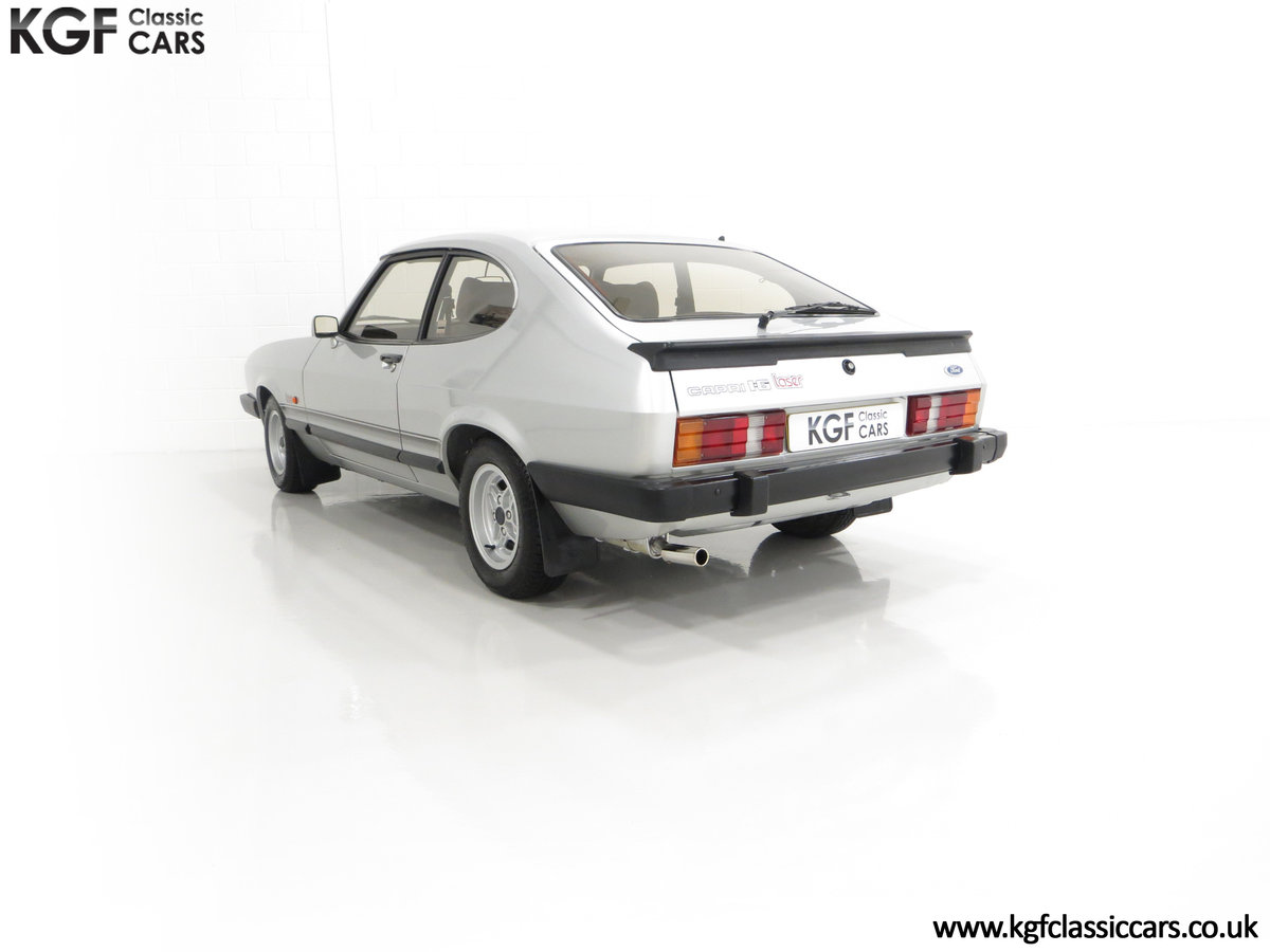 1986 Quite Possibly the Lowest Mileage Ford Capri 1.6 Laser For Sale (picture 8 of 30)