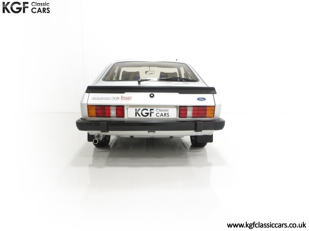 1986 Quite Possibly the Lowest Mileage Ford Capri 1.6 Laser For Sale (picture 10 of 30)
