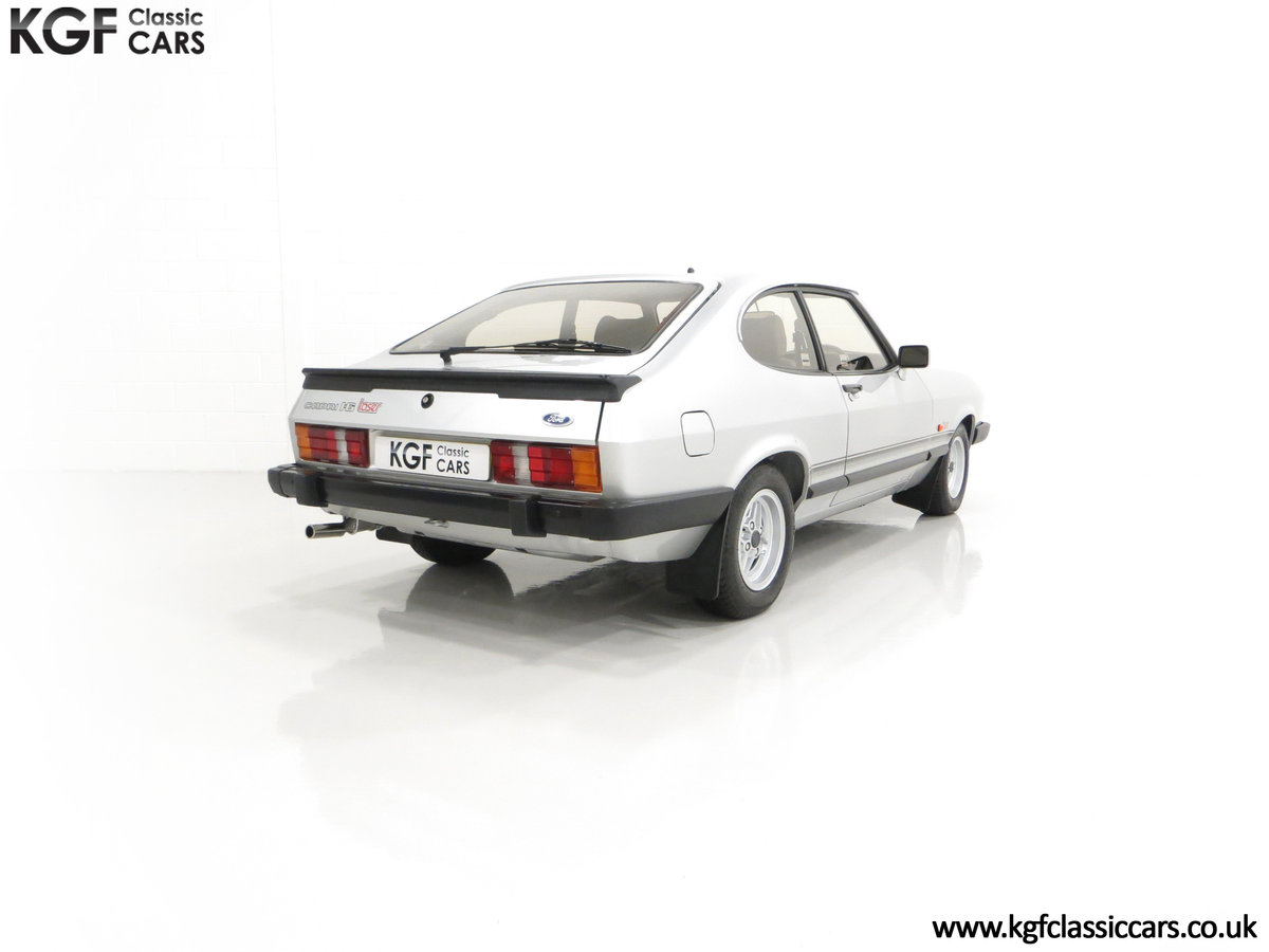 1986 Quite Possibly the Lowest Mileage Ford Capri 1.6 Laser For Sale (picture 13 of 30)