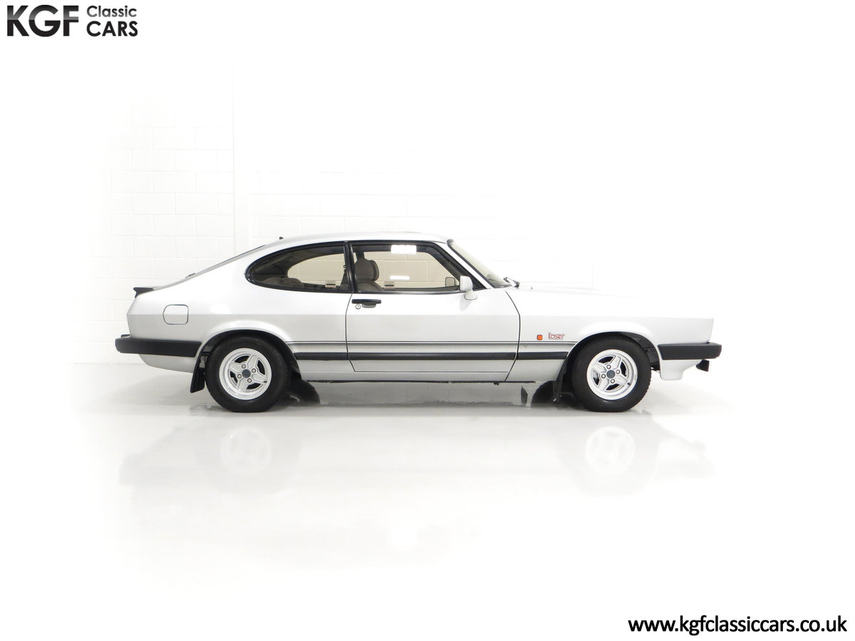 1986 Quite Possibly the Lowest Mileage Ford Capri 1.6 Laser For Sale (picture 14 of 30)