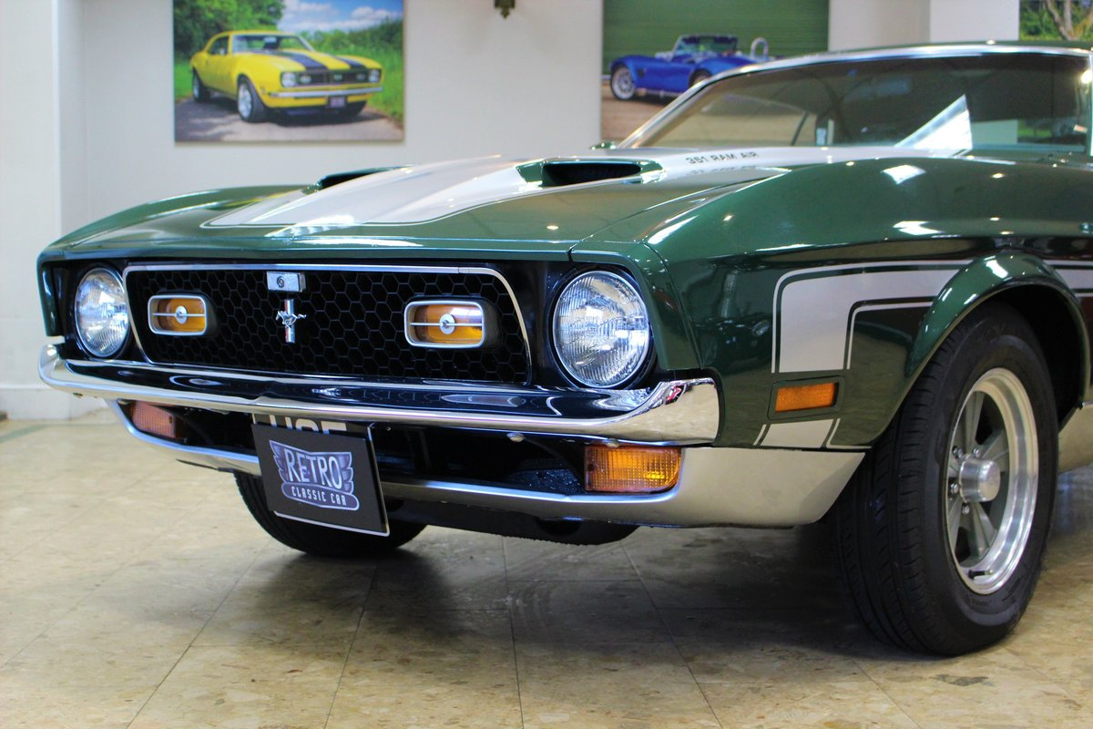 1971 Ford Mustang Mach 1 Cobra Jet 351 V8 Auto-Huge History For Sale (picture 13 of 25)