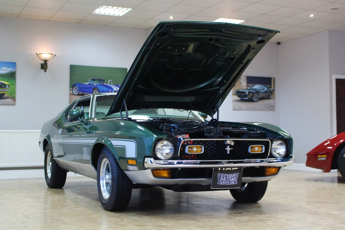 1971 Ford Mustang Mach 1 Cobra Jet 351 V8 Auto-Huge History For Sale (picture 24 of 25)