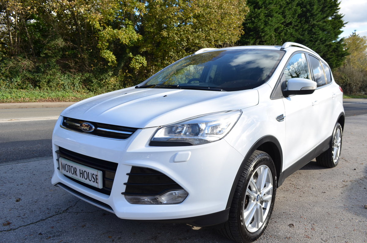 2013 FORD KUGA 2.0 TITANIUM POWERSHIFT 4X4 AUTO TOP MODEL For Sale (picture 2 of 12)