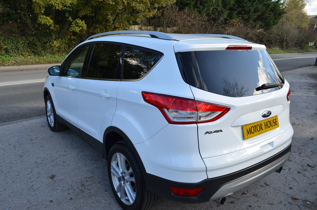 2013 FORD KUGA 2.0 TITANIUM POWERSHIFT 4X4 AUTO TOP MODEL For Sale (picture 3 of 12)
