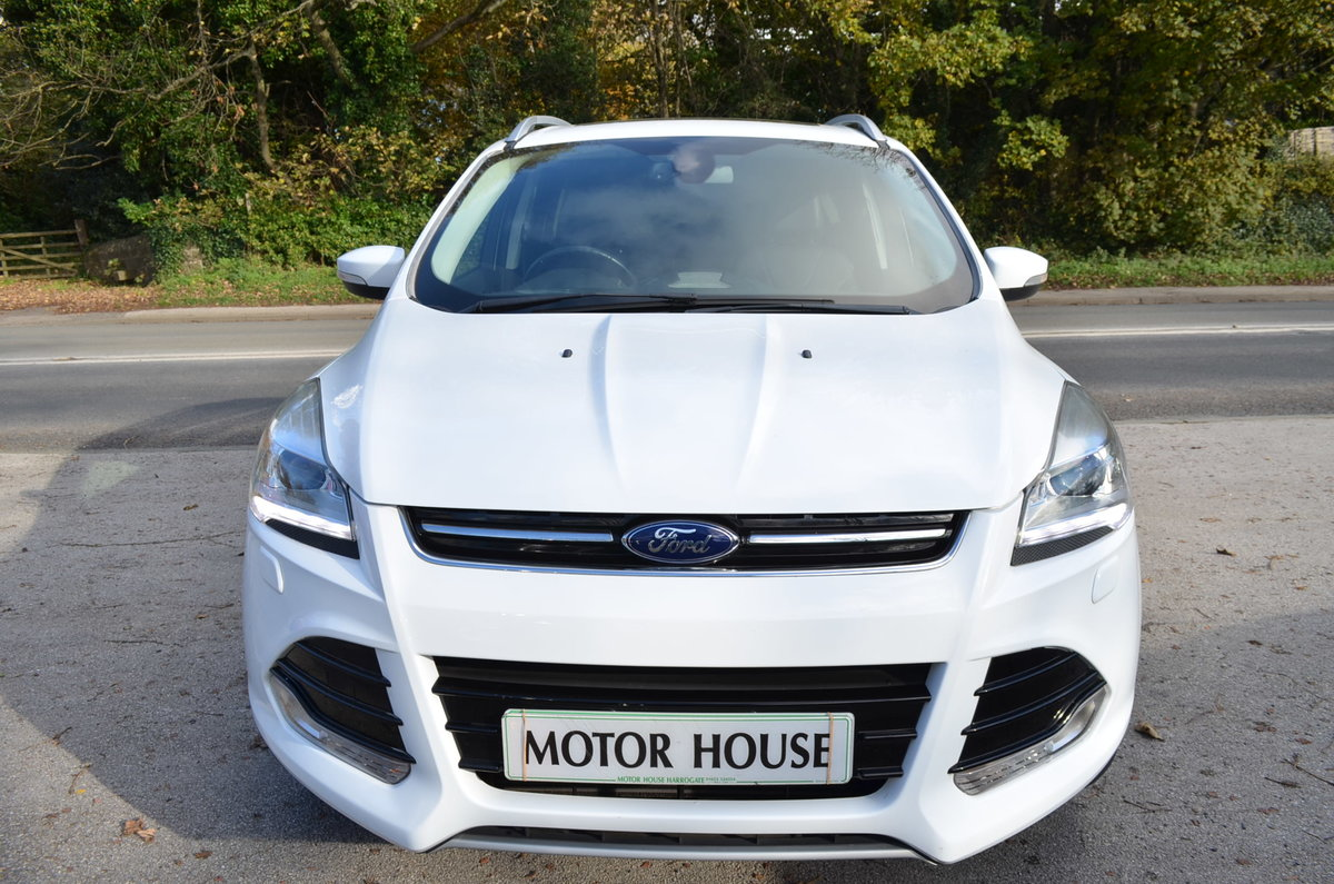 2013 FORD KUGA 2.0 TITANIUM POWERSHIFT 4X4 AUTO TOP MODEL For Sale (picture 4 of 12)
