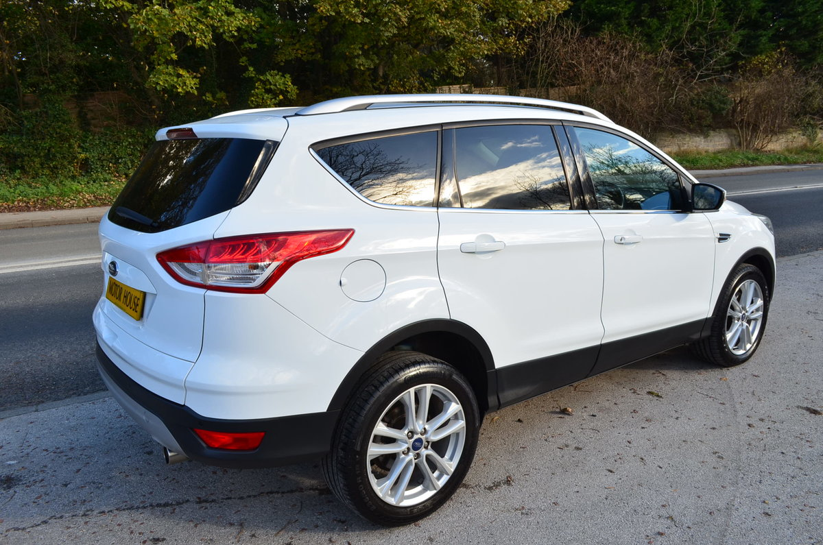 2013 FORD KUGA 2.0 TITANIUM POWERSHIFT 4X4 AUTO TOP MODEL For Sale (picture 5 of 12)