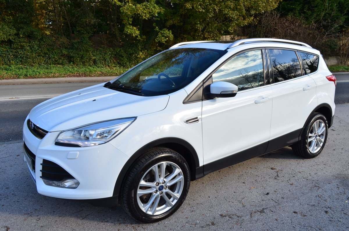 2013 FORD KUGA 2.0 TITANIUM POWERSHIFT 4X4 AUTO TOP MODEL For Sale (picture 6 of 12)