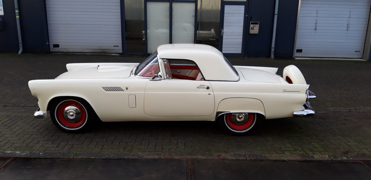1956 Affordable Ford Thunderbird For Sale (picture 2 of 9)