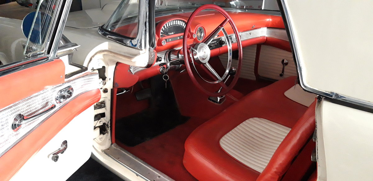 1956 Affordable Ford Thunderbird For Sale (picture 3 of 9)