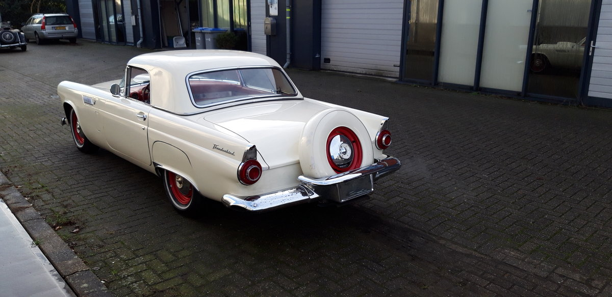 1956 Affordable Ford Thunderbird For Sale (picture 4 of 9)
