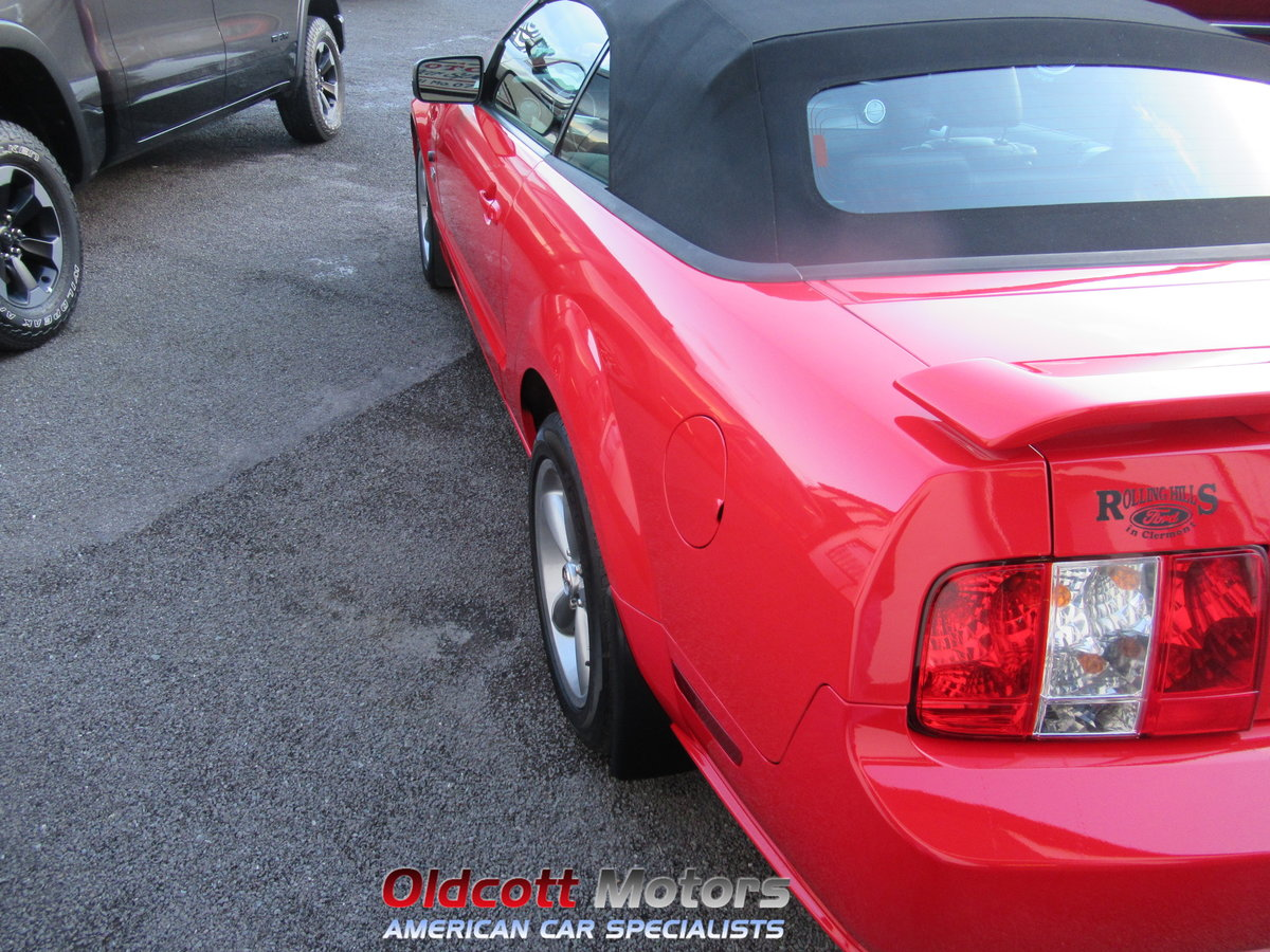 2007 FORD MUSTANG CONVERTIBLE 4.6 LITRE GT AUTOMATIC SOLD (picture 3 of 10)