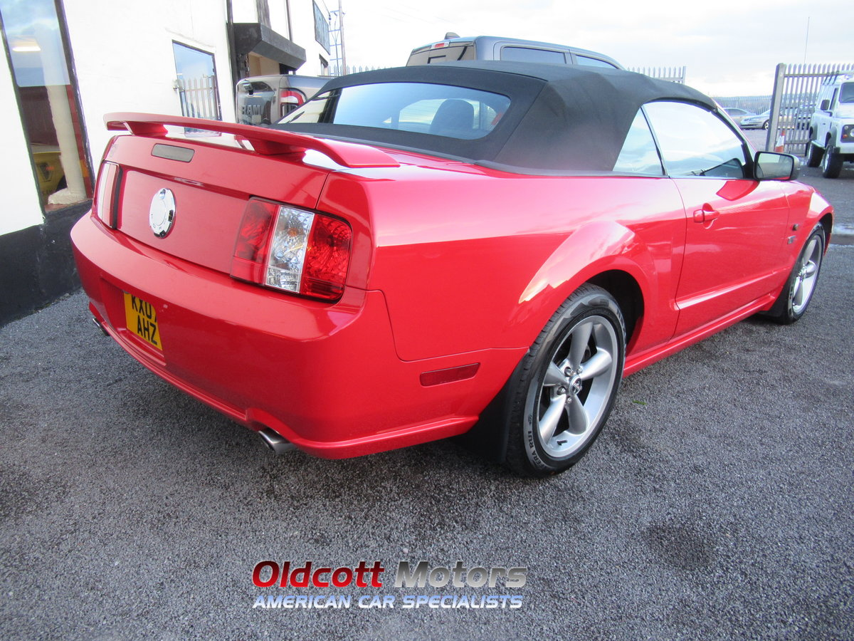 2007 FORD MUSTANG CONVERTIBLE 4.6 LITRE GT AUTOMATIC SOLD (picture 5 of 10)