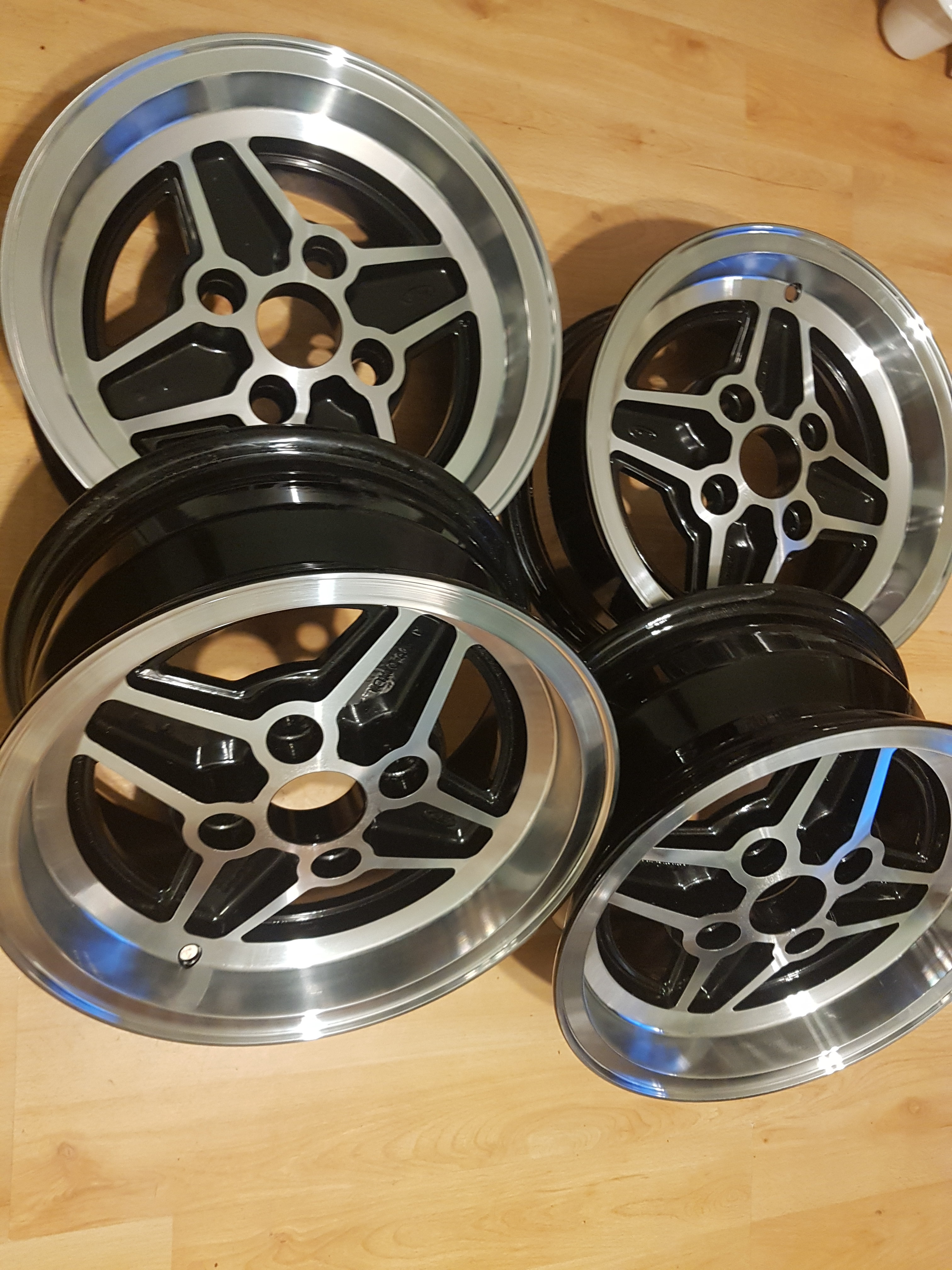 MK2 FORD CAPRI RS ALLOYS WHEELS