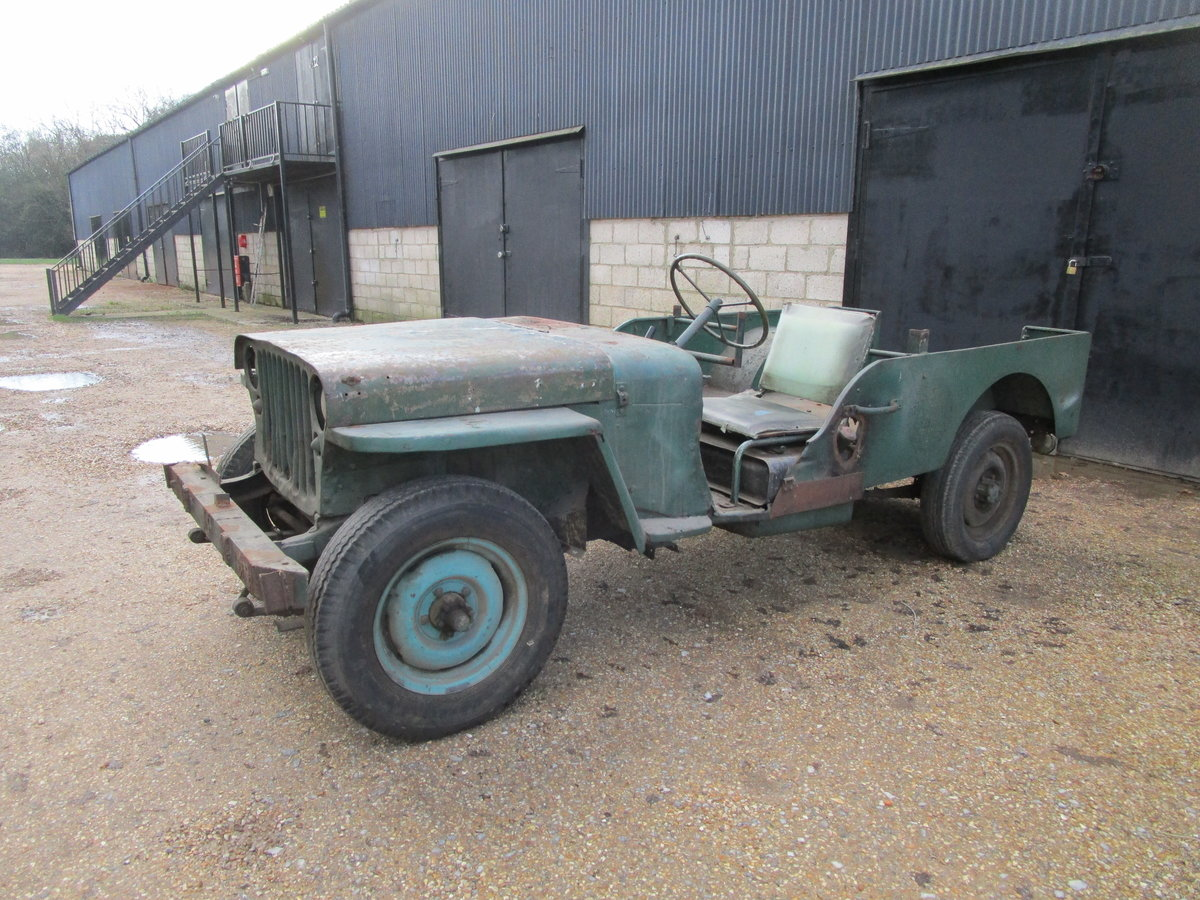FORD GPW 1943 FOR COMPLETE RESTORATION For Sale (picture 1 of 12)