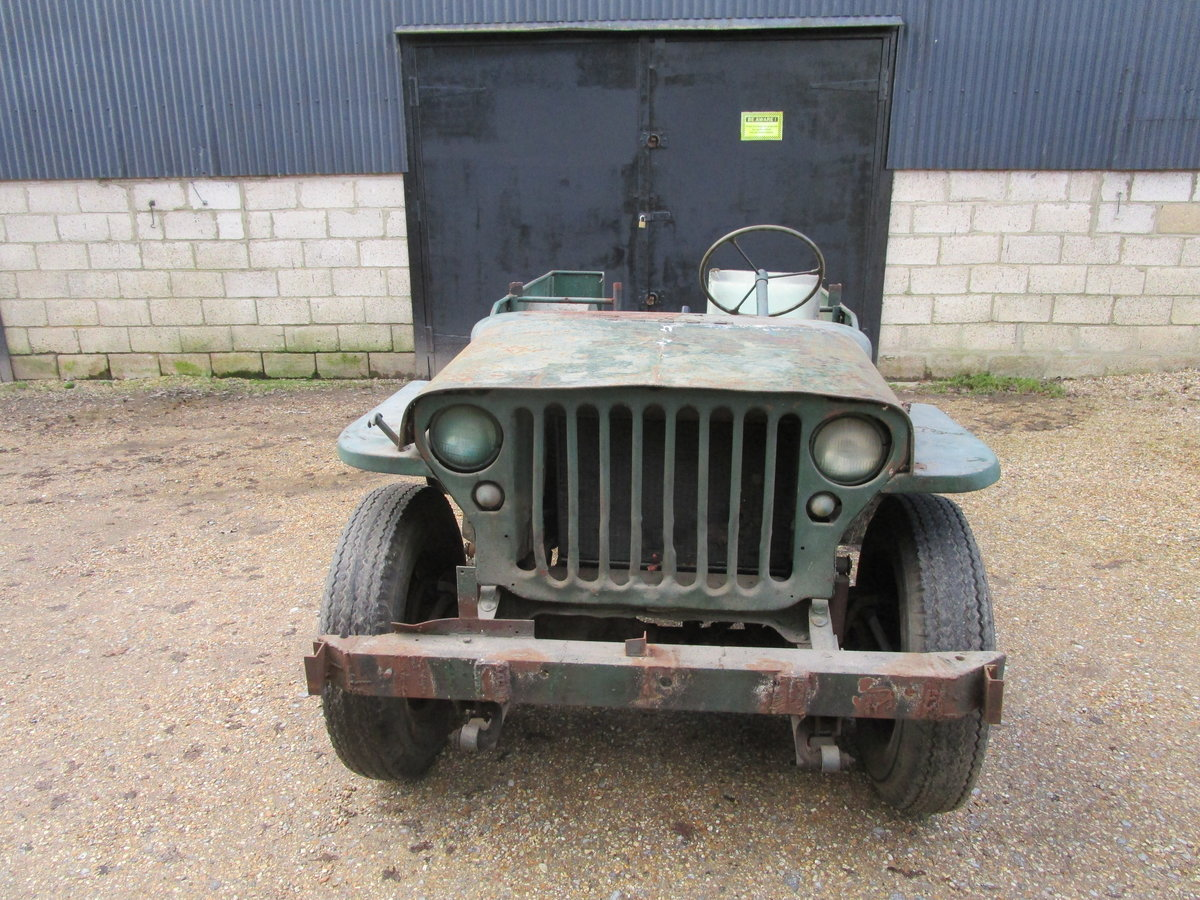 FORD GPW 1943 FOR COMPLETE RESTORATION For Sale (picture 2 of 12)