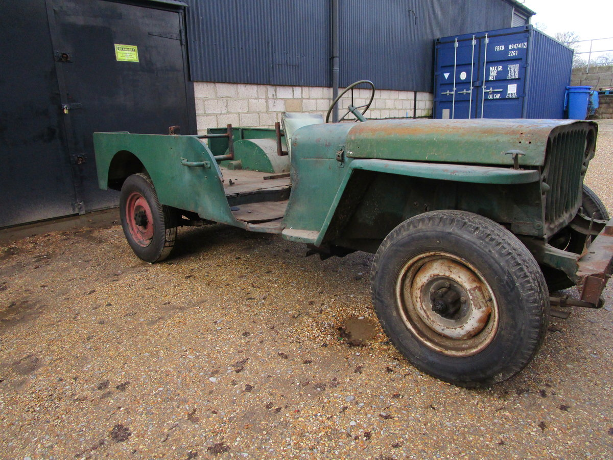FORD GPW 1943 FOR COMPLETE RESTORATION For Sale (picture 3 of 12)