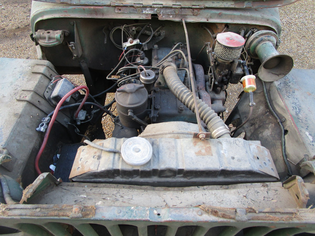 FORD GPW 1943 FOR COMPLETE RESTORATION For Sale (picture 8 of 12)