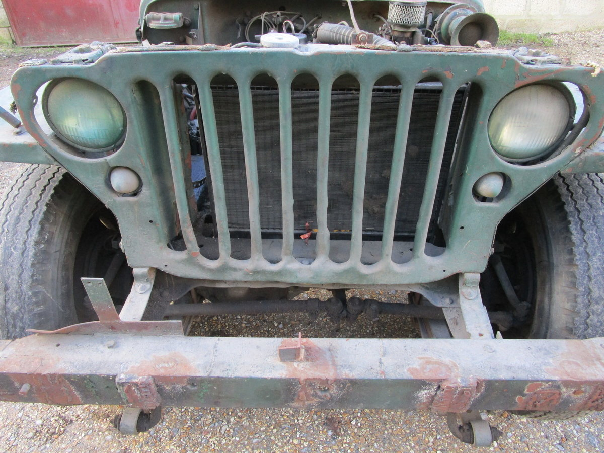 FORD GPW 1943 FOR COMPLETE RESTORATION For Sale (picture 9 of 12)