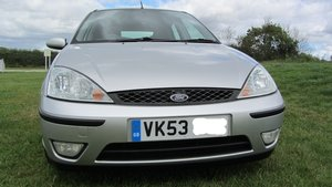 Ford Focus 1.8 Petrol Zetec 5-door 53 plate - One