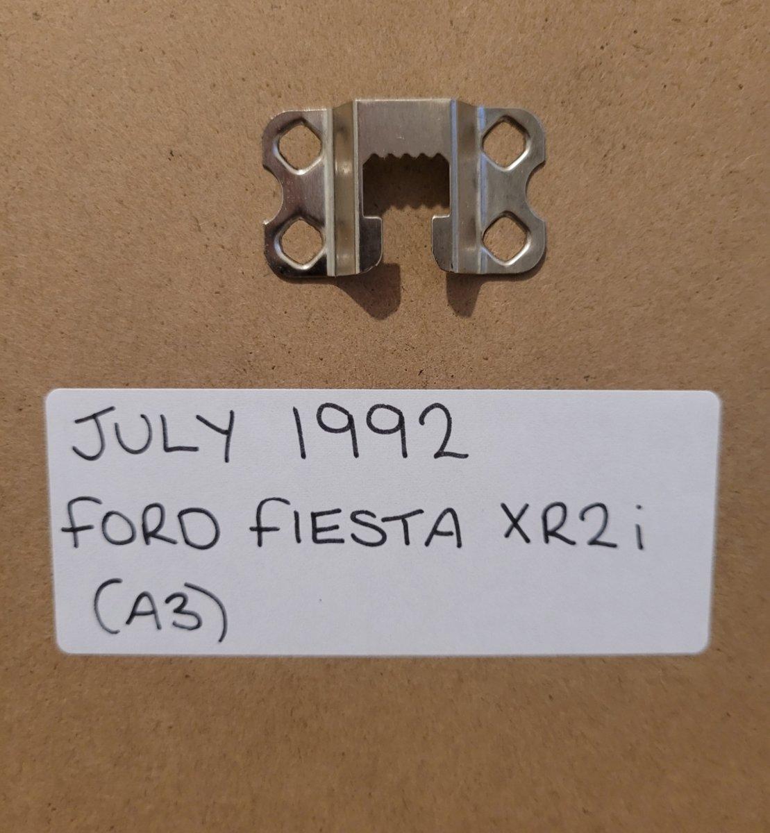 1991 Original 1992 Ford Fiesta XR2i Framed Advert For Sale (picture 2 of 3)