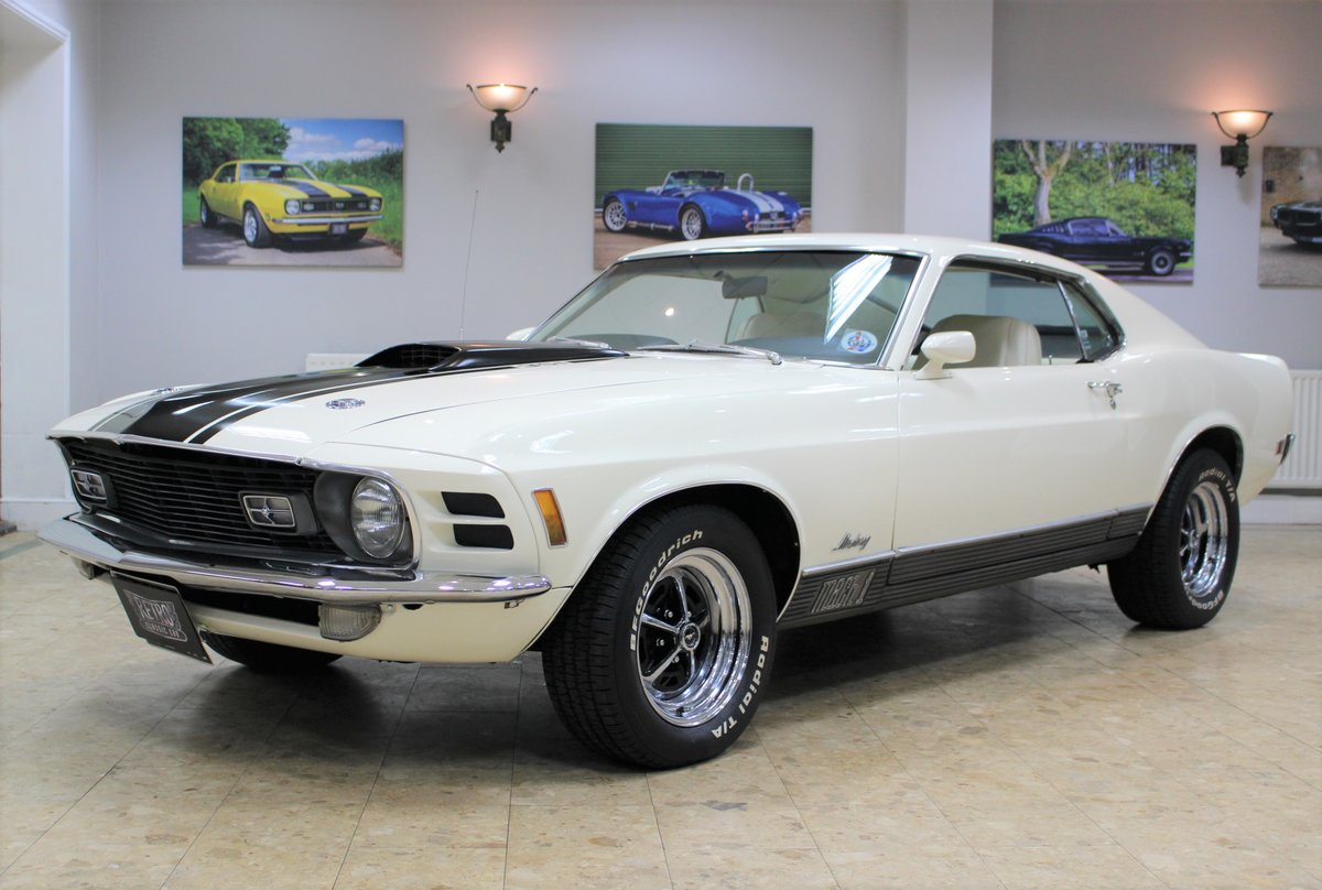 1970 Ford Mustang Mach 1 351 V8 Fastback Auto - Restored For Sale (picture 1 of 25)