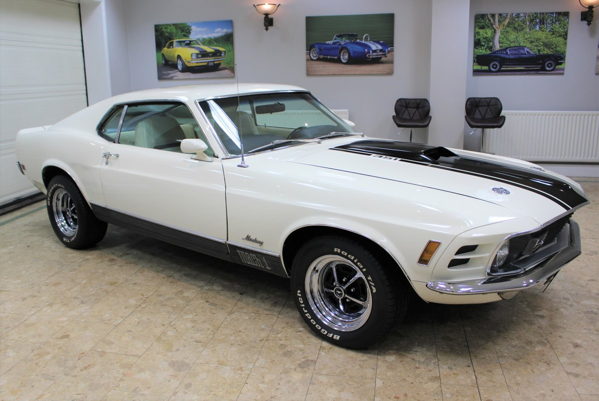 1970 Ford Mustang Mach 1 351 V8 Fastback Auto - Restored For Sale (picture 2 of 25)