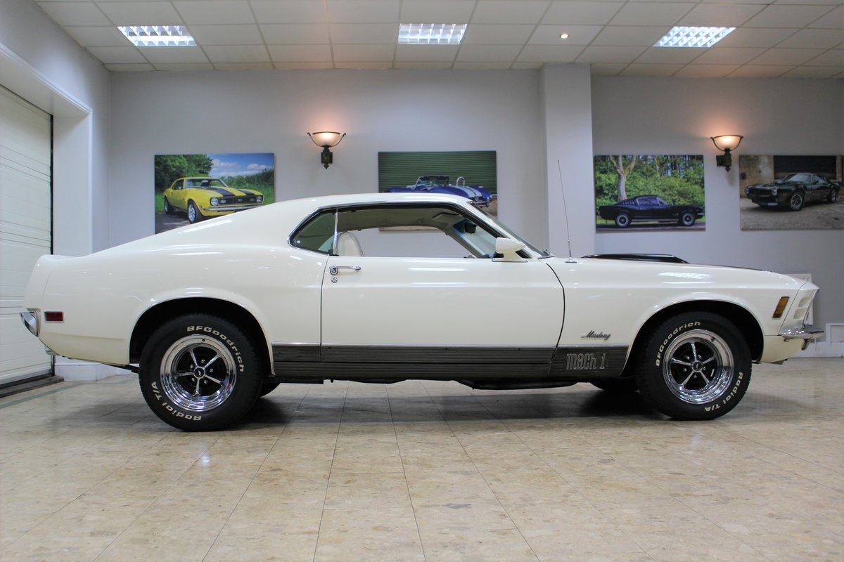 1970 Ford Mustang Mach 1 351 V8 Fastback Auto - Restored For Sale (picture 3 of 25)