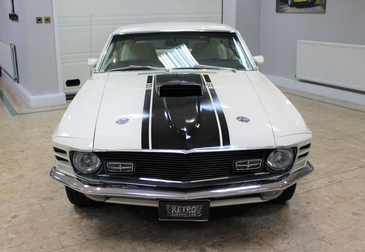1970 Ford Mustang Mach 1 351 V8 Fastback Auto - Restored For Sale (picture 7 of 25)