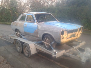 Very Early MK1 Escort 2-door