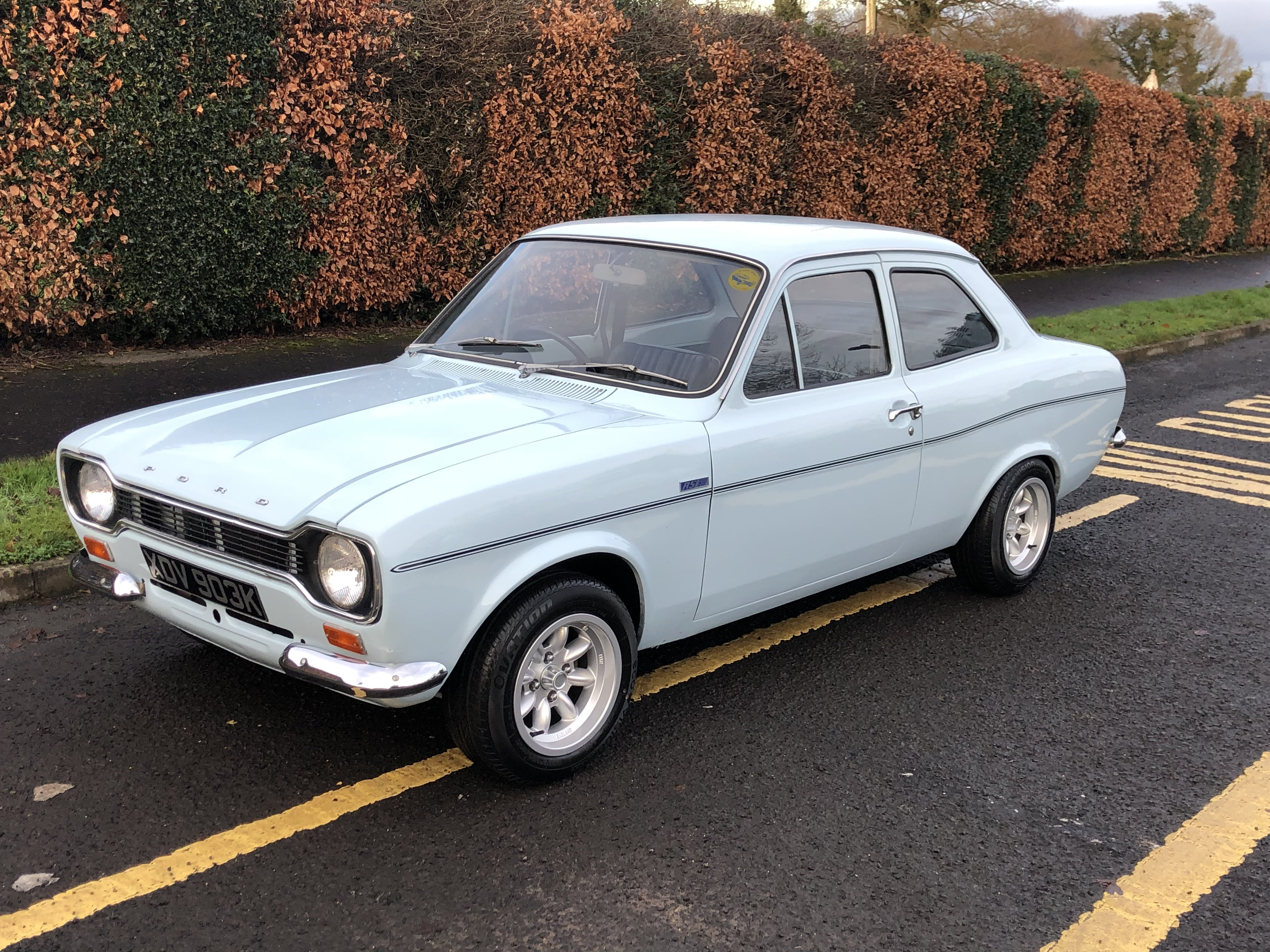 1972 Ford Escort MK1 RS1600 For Sale (picture 1 of 6)