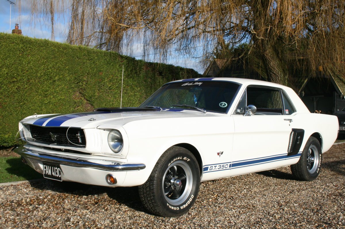 1965 Ford Mustang Coupe GT 350 Evocation.NOW SOLD For Sale (picture 1 of 31)
