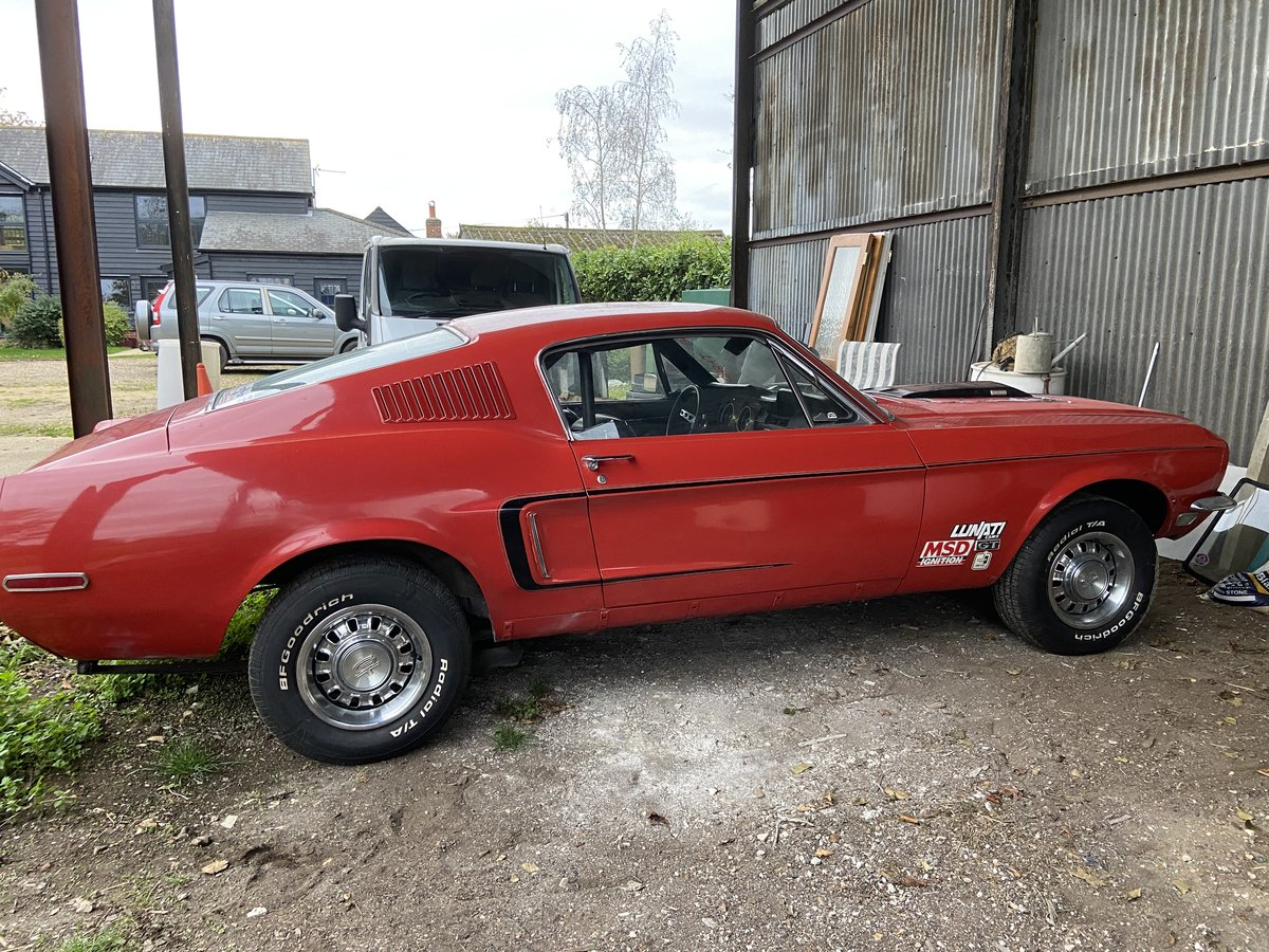 1968 Mustang 5 Speed Conversion