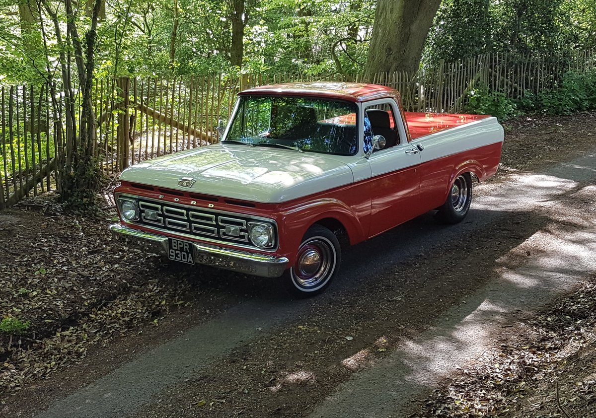 1963 Fully restored Ford F100 Unibody For Sale (picture 1 of 9)