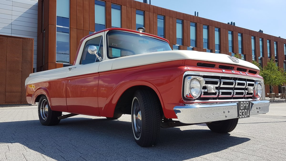 1963 Fully restored Ford F100 Unibody For Sale (picture 6 of 9)