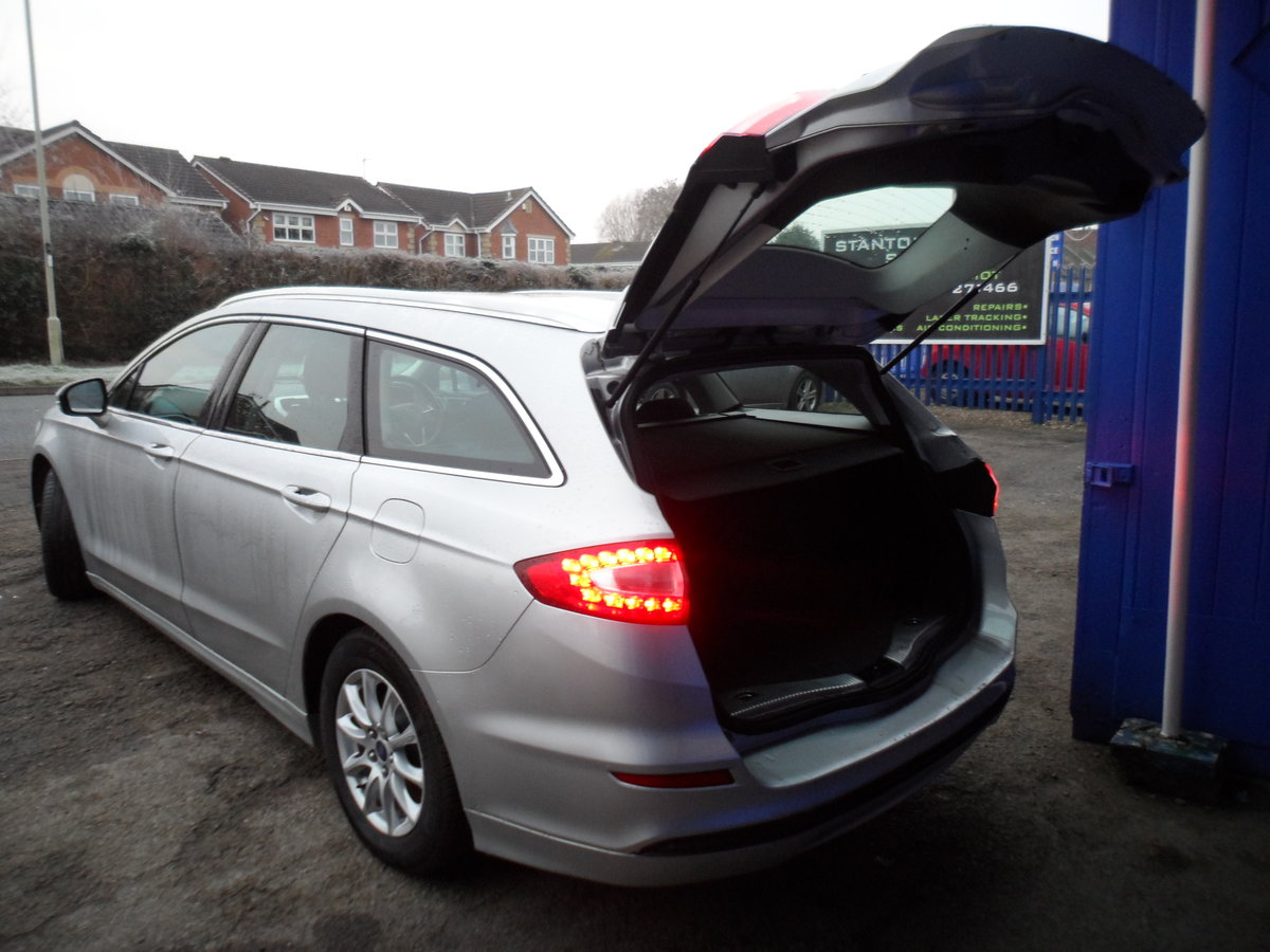 2015 65 PLATE MONDEO ESTATE 2LTR DIESEL6 SPEED MANUL 133K MOT 22 For Sale (picture 2 of 12)