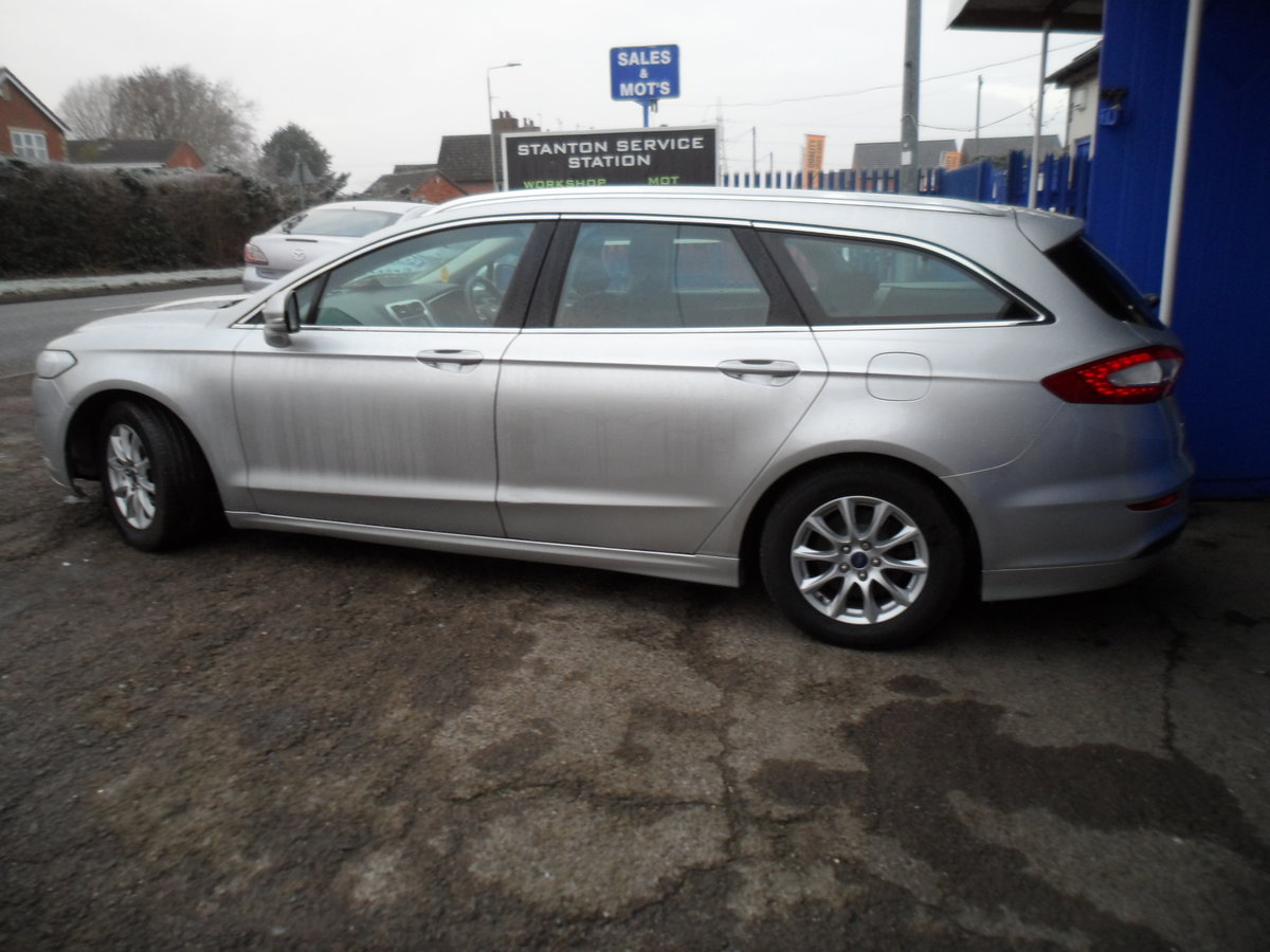2015 65 PLATE MONDEO ESTATE 2LTR DIESEL6 SPEED MANUL 133K MOT 22 For Sale (picture 5 of 12)