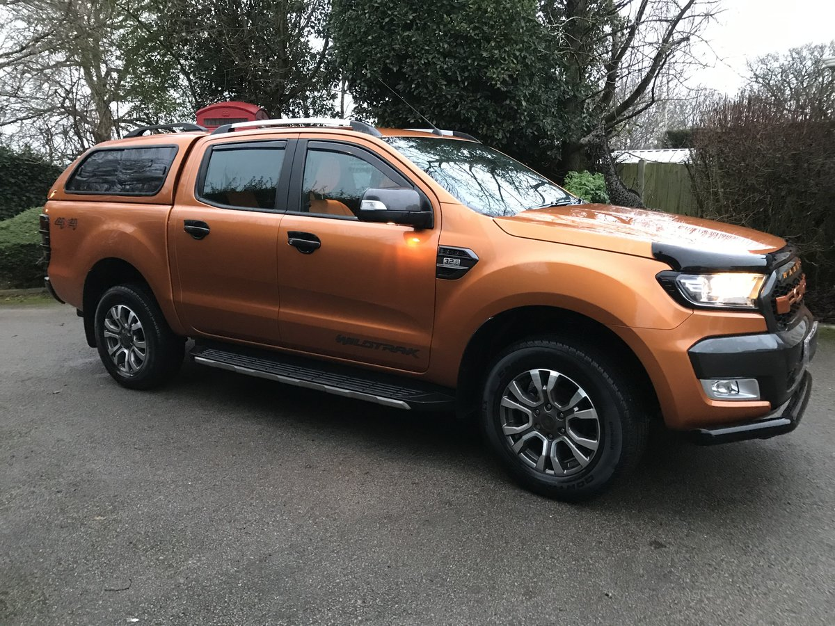 2018 Ford Ranger 3.2 TDCi Wildtrak Double Cab Pickup Auto 4WD 4dr SOLD (picture 2 of 12)