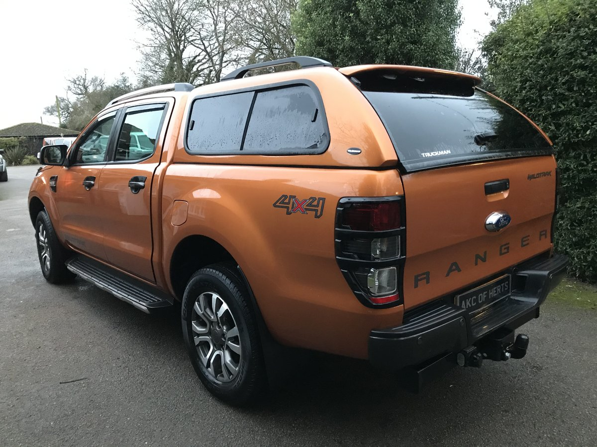 2018 Ford Ranger 3.2 TDCi Wildtrak Double Cab Pickup Auto 4WD 4dr SOLD (picture 5 of 12)